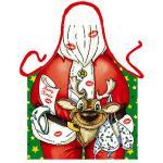 Grillschürzen - Weihnachtsmann Rentier