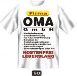 geil bedruckte Fun- Shirts T-Shirt - Oma GmbH - Muttertag Geburtstag Geschenk