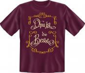 Geburtstag Fun T-Shirt Oma ist die Beste Muttertag Shirt Geschenk geil bedruckt