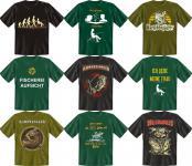 Angler T-Shirt Angel Fisch Fun Shirt Geburtstag Geschenk Auswahl geil bedruckt