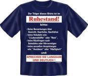 geil bedrucktes Geburtstag Fun T-Shirt Shirts - Langsam im Ruhestand - Geschenk