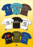 Fun Collection - T-Shirt Motiv Hund Geschenk Auswahl Hunde-Shirt lustig bedruckt