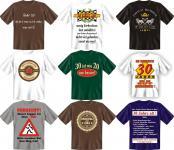T-Shirt 30 Jahre Dreißig Shirt 30ter Geburtstag Geschenk Auswahl geil bedruckt