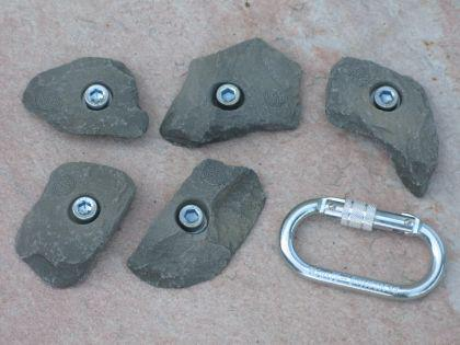 Klettergriffe Größe S Set Lamsen 5-teilig