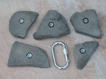 Klettergriffe Größe L Set Birrkar 5-teilig