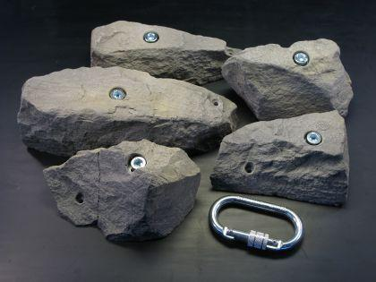 Klettergriffe Größe XXL Set Hallgarter 5-teilig