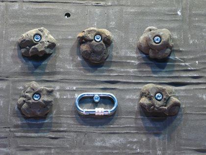 Klettergriffe Größe M Set Lug 5-teilig