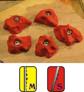 Klettergriffe Größe M Set Chünetta 5-teilig - Vorschau 1