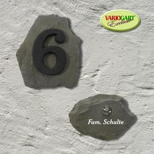 Hausnummer in Felsoptik - Vorschau 5