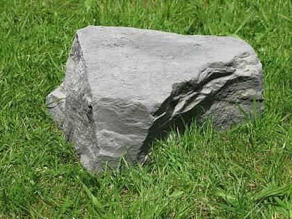 Hohlstein aus Graphikstein LxBxH    42 x 40 x 18 cm 7f97f3