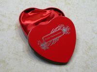 Geschenkdose Herzdose mit Gravur