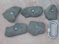 Klettergriffe Größe M Set Schesaplana 5-teilig