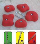 Klettergriffe Größe XL Set Languard 5-teilig