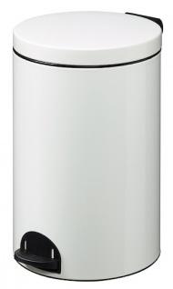 Rossignol Sanelia Treteimer 20L aus Stahl oder Edelstahl mit antibakteriellem Eimer