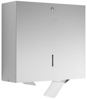 Wagner-EWAR Toilettenpapierhalter 4 Rollen WP163-S Edelstahl für Aufputzmontage