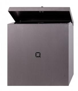 Qbic-line Hygieneabfallbehälter aus Edelstahl 9L