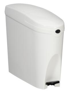 Rossignol Damenhygiene Abfallbehälter mit Fußpedal 20l aus ABS-Kunststoff