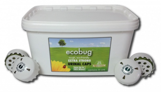 25-er - Set EcoBug® Extra strong urinal cap - wassersparendes Urinal-System