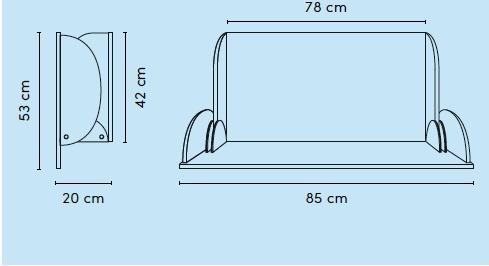 Wandwickeltisch im Querformat aus Holz erhältlich in Weiß oder Buche KAWAQ von Timkid - Vorschau 5