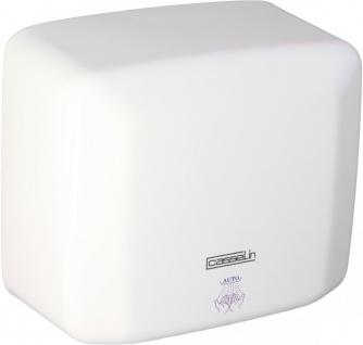 Casselin Händetrockner 2500 W mit Infrarotsensor - Weiß lackiert oder Edelstahl