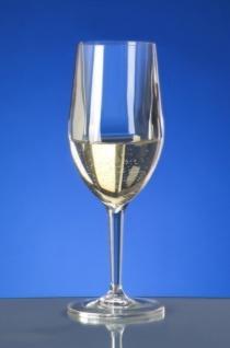 Kunststoff Weinglas Vinalia 1/8l SAN glasklar wiederverwendbar Spülmaschinen tauglich - Vorschau 2
