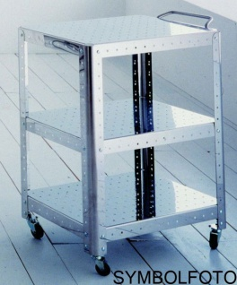 G-Line Pro Ständer Quadra XL - Montanti aus Edelstahl gebürstet für Regalsysteme