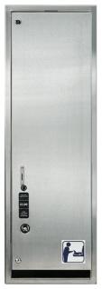 Windelspender Edelstahl Verkaufsautomat für Windelwechselsets