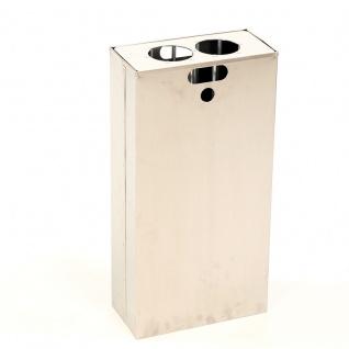 1/2 Inneneinsatz und Bechersammler für Carro 55 Liter. Aluminium