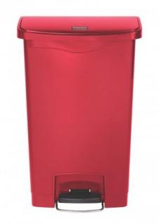 RUBBERMAID Slim Jim® Kunststoff-Tretabfallbehälter mit Pedal an der Breitseite 50 L - Vorschau 5