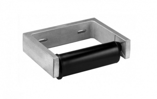 Bobrick B-2730 WC - Rollenhalter aus Aluminium-Guß gebürstet
