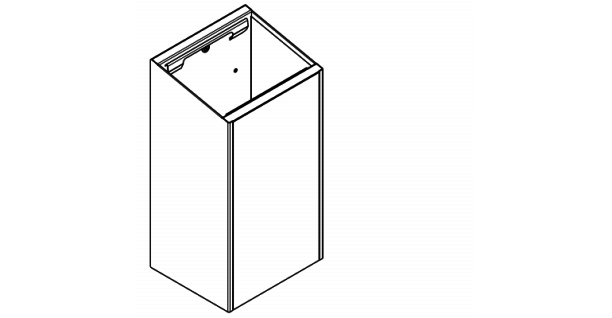 Franke Abfallbehälter EXOS. in 3 verschiedenen Ausführungen erhältlich - Vorschau 5