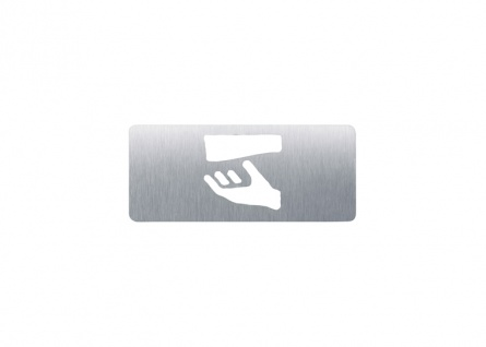 Wagner-EWAR Piktogramm Papier AC426 Edelstahl matt geschliffen