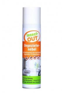 Insect-OUT® Ungeziefernebel 400 ml Nebelautomat sorgt für eine sofortige Wirkung