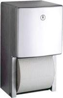 Bobrick B-4288 WC-Papierrollenhalter für mehrere Rollen & Aufputzmontage