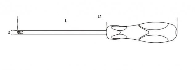 Beta Schraubendreher für Phillips®-Schrauben 1292 - Vorschau 2