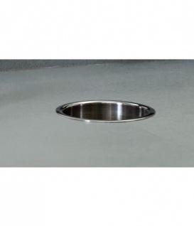Bobrick B-529 TrimLine-Serie Edelstahl Einwurfring zum Einbau in Waschtischplatte
