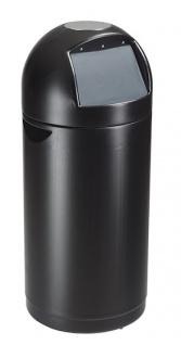 Rossignol Cyvomax Abfallbehälter 52L aus Polyethylen-Kunststoff mit Einwurfklappe