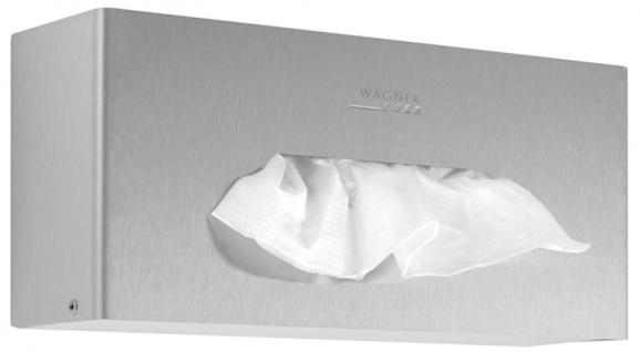 Wagner-EWAR Tissuespender WP118 Edelstahl für Aufputzmontage