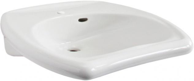 Franke Einzelwaschtisch ANMA0012 aus Keramik in Weiß zur Wandmontage