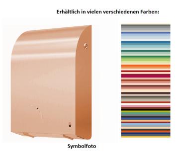 Dan Dryer Exclusive Toilettenpapierhalter mit Verriegelung in einer vielfältigen Farbauswahl