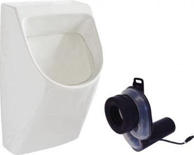 Franke Wandurinal CMPX0060 aus Keramik mit Siphonsteuerung zur Wandmontage