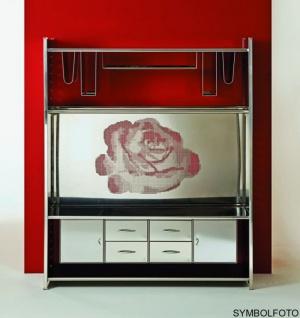 Graepel High Tech hochwertiges H2 Rose Giant Regalsystem aus Edelstahl