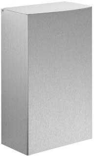 Wagner-EWAR Hygiene-Abfallbehälter+Schleuse 5l WP179-1 Edelstahl für Aufputzmontage