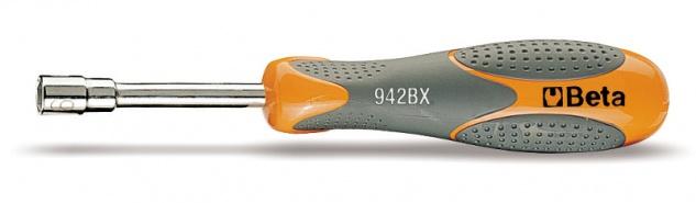 Beta Sechskant-Steckschlüssel kurze Ausführung verchromt 942BX