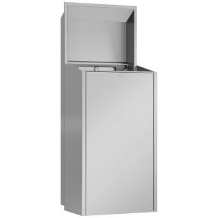 Franke EXOS. Unterputz Abfallbehälter in 3 Varianten erhältlich