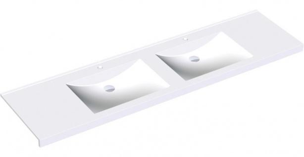 Franke Nischenwaschtisch ANMW520 aus Miranit in Weiß zur Wandmontage