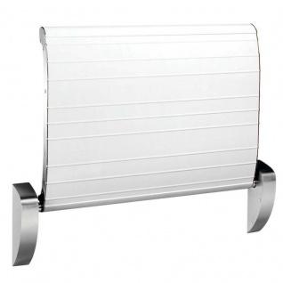 Dan Dryer hochklappbarer Sicherheitswickeltisch ohne Gurt zur Wandmontage