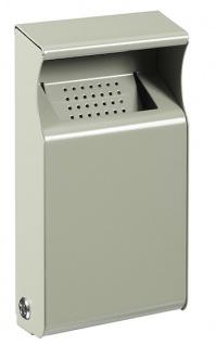 Rossignol Kopa Wandascher 1L aus pulverbeschichtetem Stahl mit UV-Absorber
