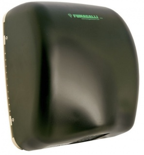 Fumagalli Händetrockner extrem leistungsfähige Natus JET UVC System Schwarz mit Sensor