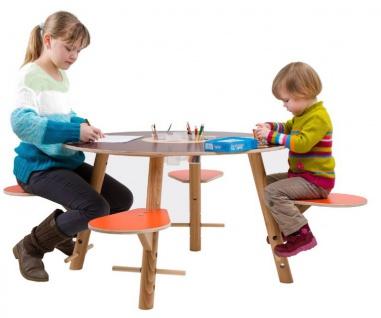 Kinderspieltisch aus Holz Tavi von Timkid - Vorschau 2